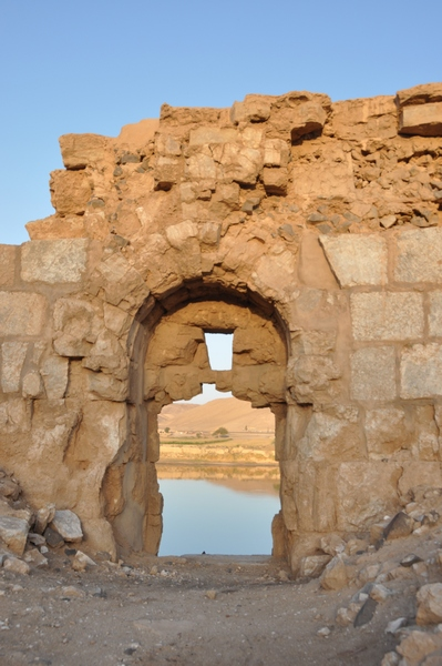 Zenobia, river gate