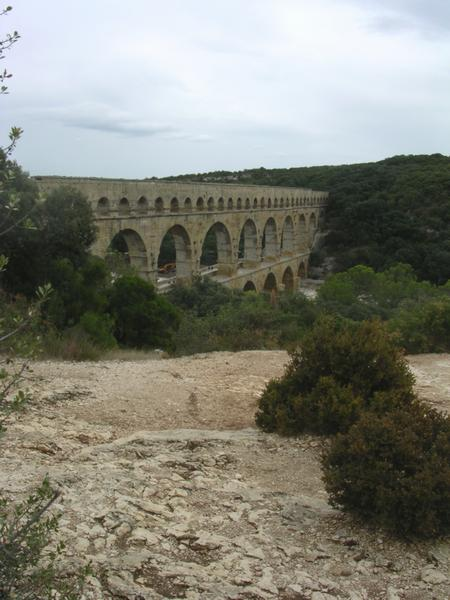 Pont du Gard from the west