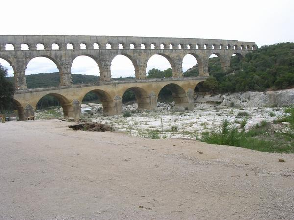 Pont du Gard from the east