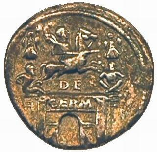 Coin commemorating Drusus' German victories