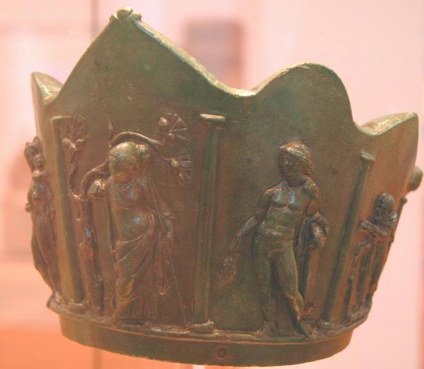 Ritual crown from the cult of Isis