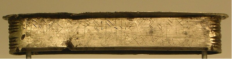 Tiel, Runic inscription