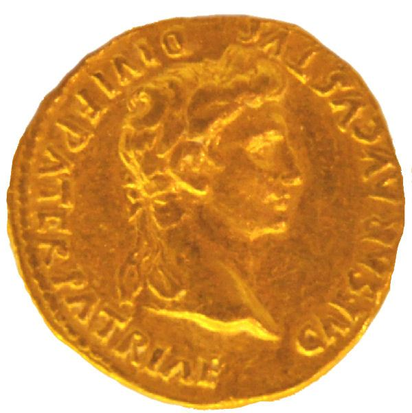 Gold coin of Augustus