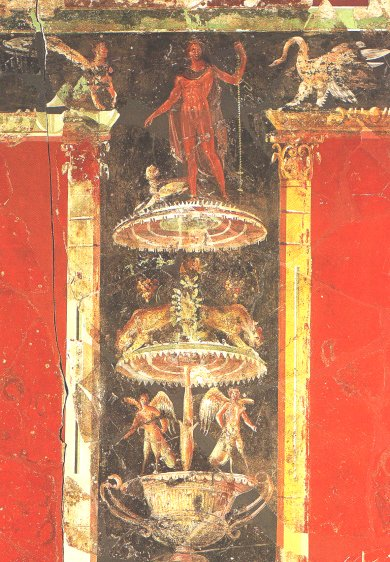 Roman fresco from Cologne