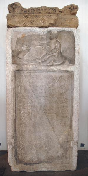 Mainz, Tombstone with a poem for a girl