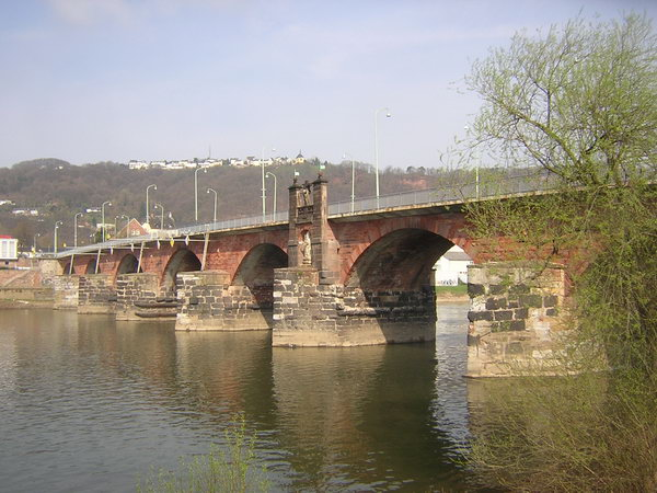 Trier, bridge from the southeast (2)