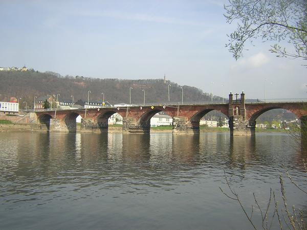 Trier, bridge from the southeast (1)