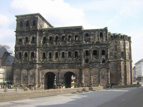 Trier, Porta Nigra, from the south