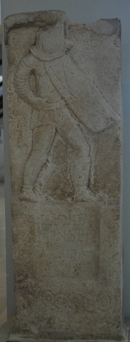 Amphipolis, Tombstone of a gladiator