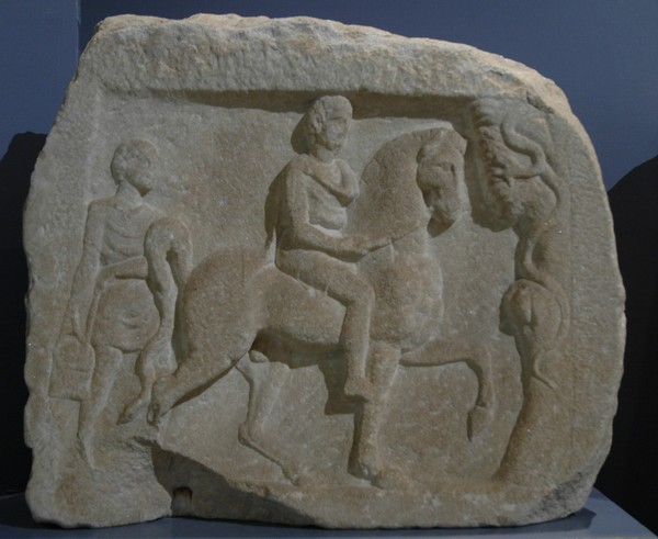 Amphipolis, Relief of a Hellenistic hero