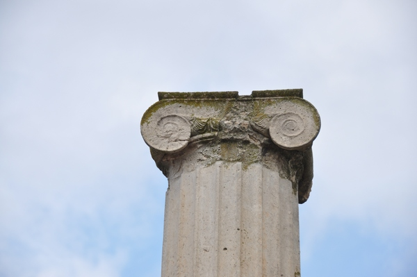 Pella, aristocratic house, Ionic capital