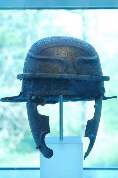 Helmet from the Hunerberg