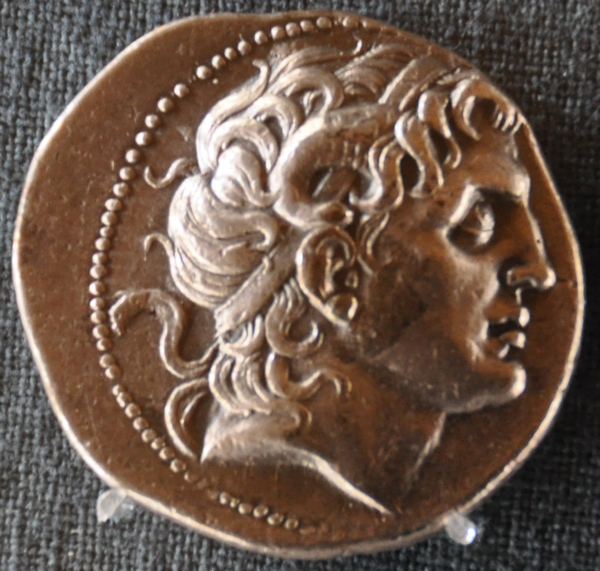 Alexander the Great, coin by Lysimachus