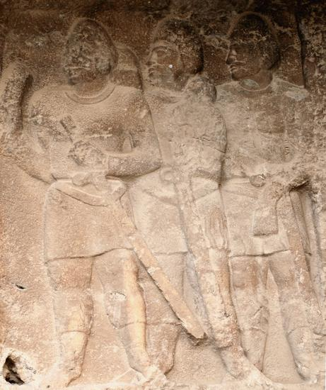 Bishapur, Relief 2, infantry (1)