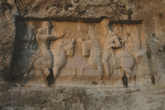 Bishapur, Relief 5, general view