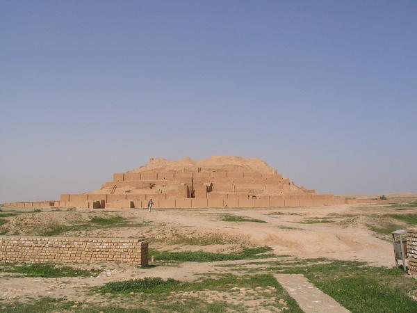 Choga Zanbil, ziggurat, view from the SE