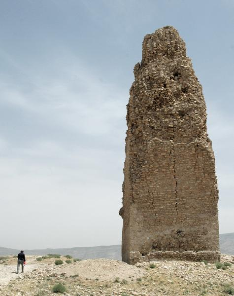 Firuzabad, City, Central tower