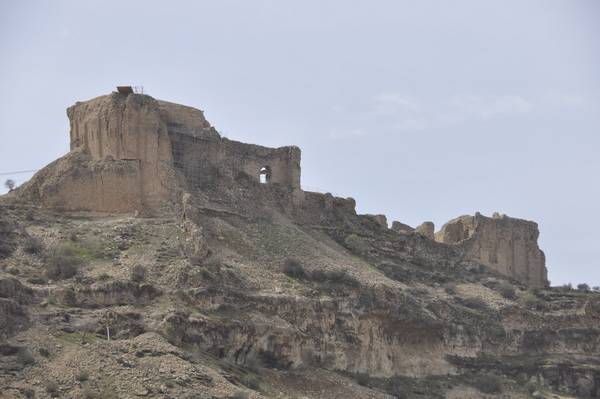 Firuzabad, Qalah-e Dokhtar from the valley (2)