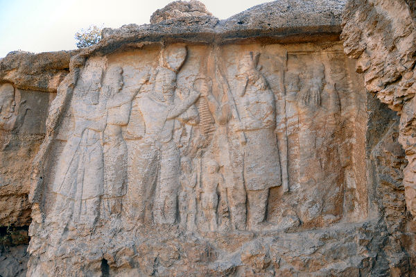Naqš-e Rajab, investiture relief of Ardašir I