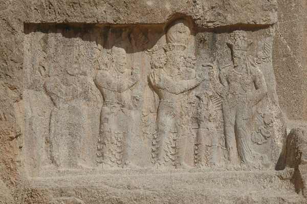 Naqš-e Rustam, Investiture relief of Narseh (1)