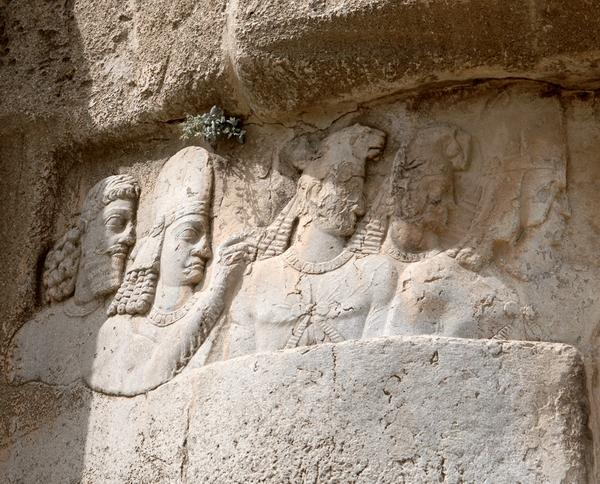 Naqsh-e Rustam, 1st Relief of Bahram II, kings