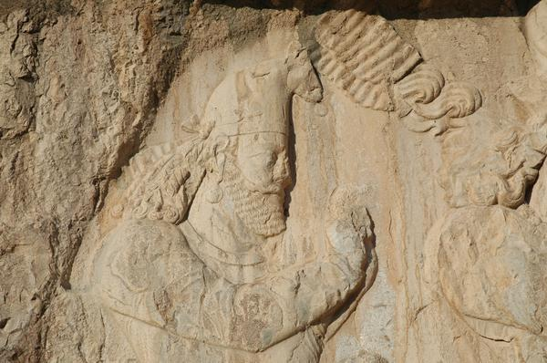 Naqš-e Rustam, Investiture relief of Narseh, courtier