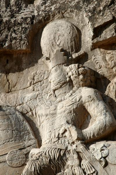 Naqš-e Rustam, Relief of Shapur I, Shapur