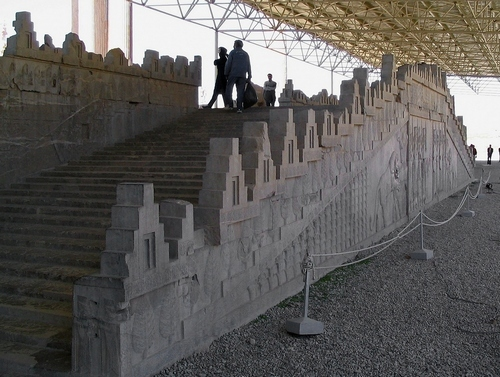 Persepolis, Apadana, East Stairs, General
