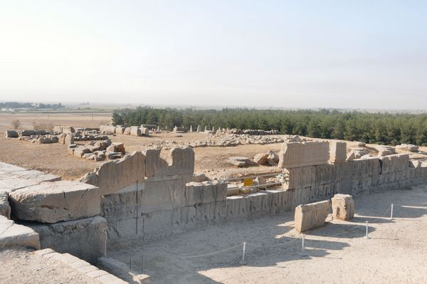 Persepolis, Palace of Artaxerxes, northern façade
