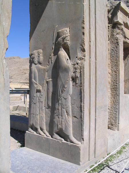 Persepolis, Palace of Darius, North Entrance