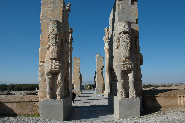 Persepolis, Gate of All Nations, Eastern entrance