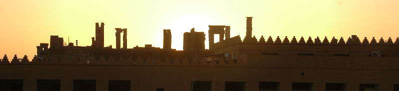 Persepolis at sunset