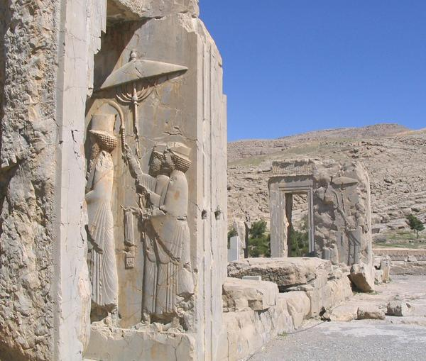 Persepolis, Palace of Xerxes, Relief