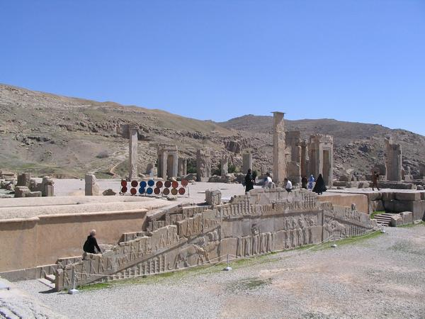 Persepolis, Palace of Xerxes, interconnecting terrace