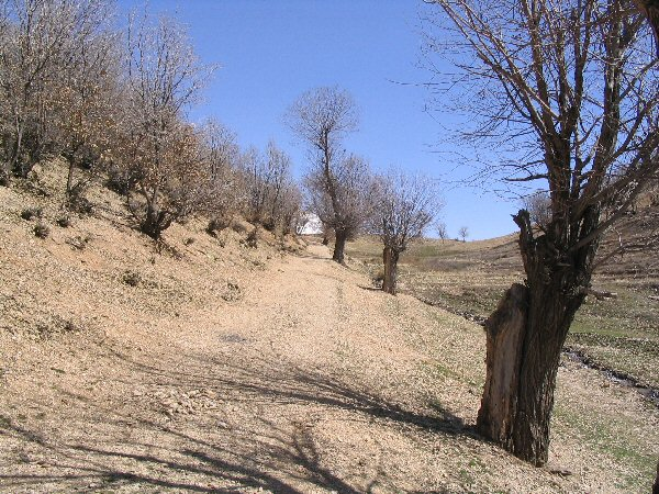 Persian Gate, mountain path (2)