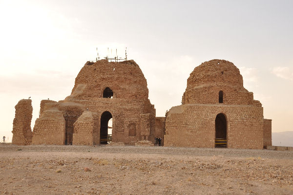 Sarvestan from the east