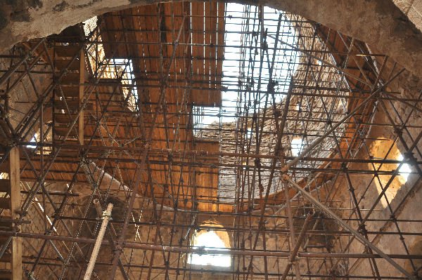 Sarvestan, great dome, interior