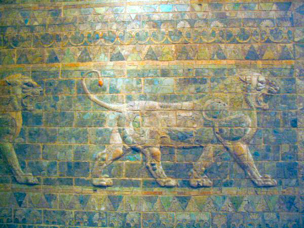 Susa, Soldiers' Relief, lion (1)