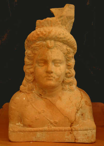 Susa, small Hellenistic or Parthian bust