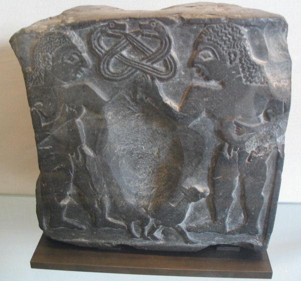 Susa, sacrifice of goat