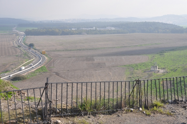 Caparcotna, seen from Megiddo