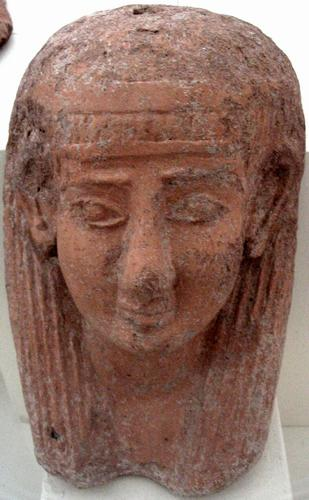 Motya, Egyptianizing female mask