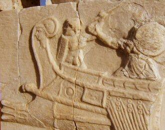 Ostia, Relief of a warship