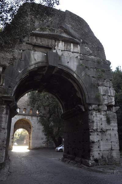 Rome, Arch of Drusus from the north