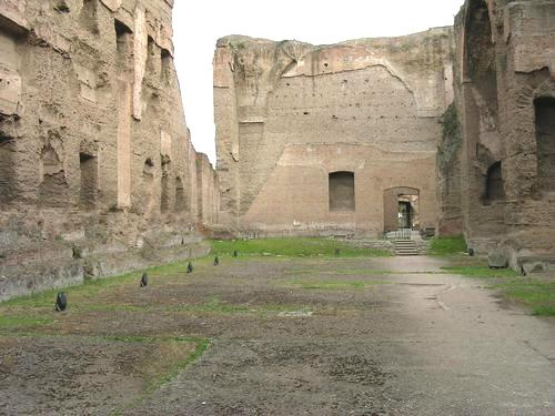 Baths of Caracalla, swimming pool