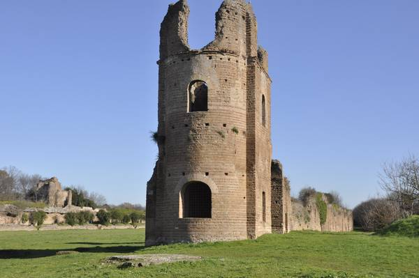 Rome, Circus of Maxentius, tower