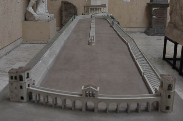 Rome, Circus of Maxentius, model