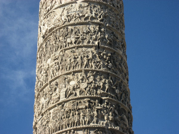 Column of Marcus Aurelius, relief (4)