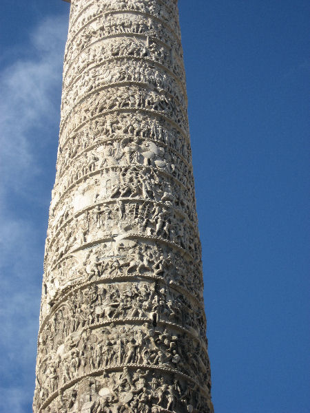 Rome, Column of Marcus Aurelius, relief (6)