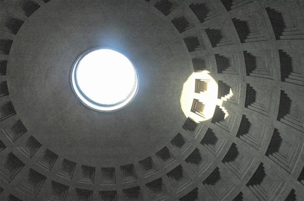 Pantheon (18), ceiling